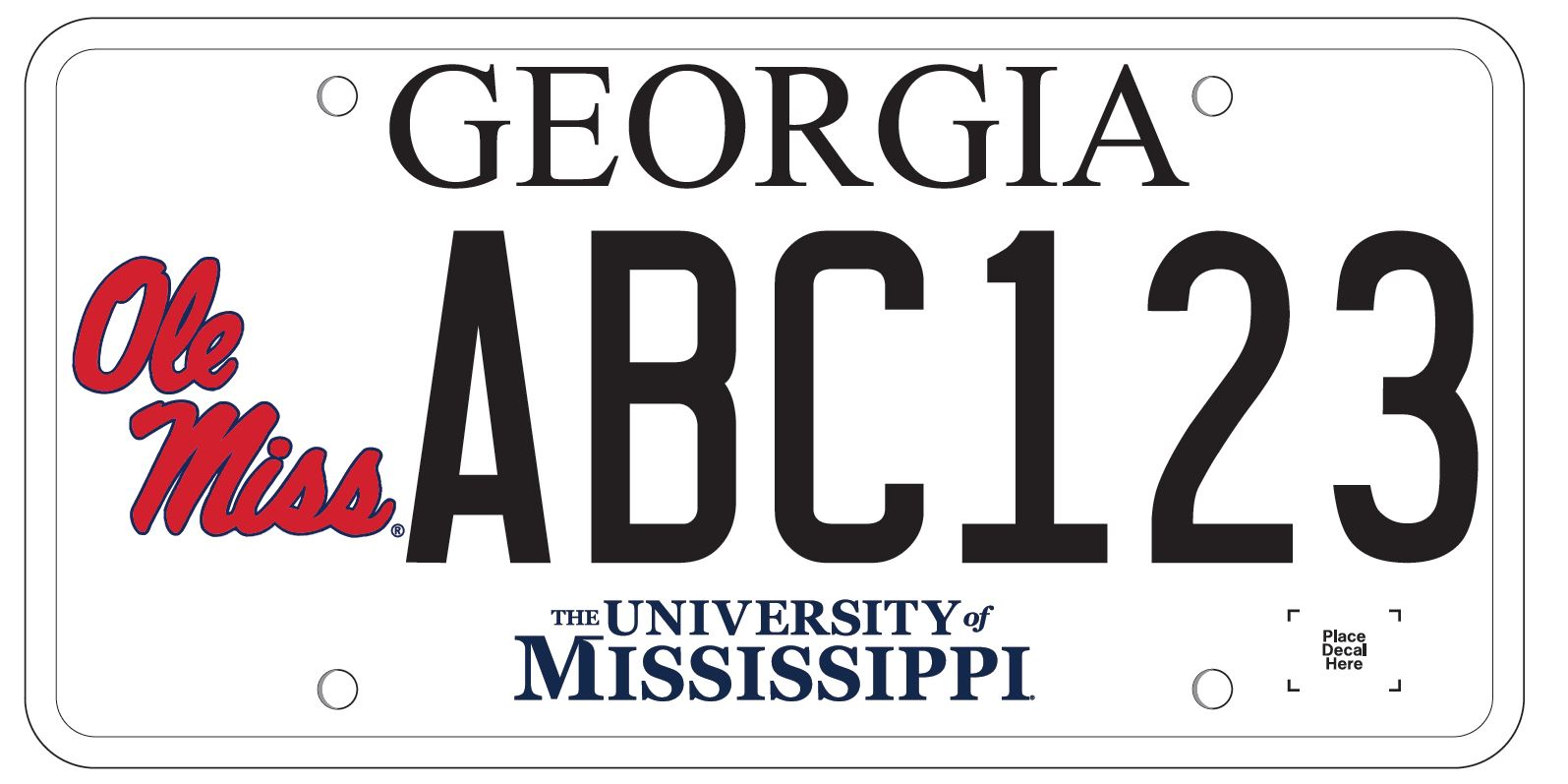 Georgia Car Tag Cost