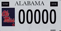 Alabama Plate