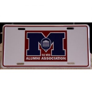 Alumni Logo License Plate-500x500