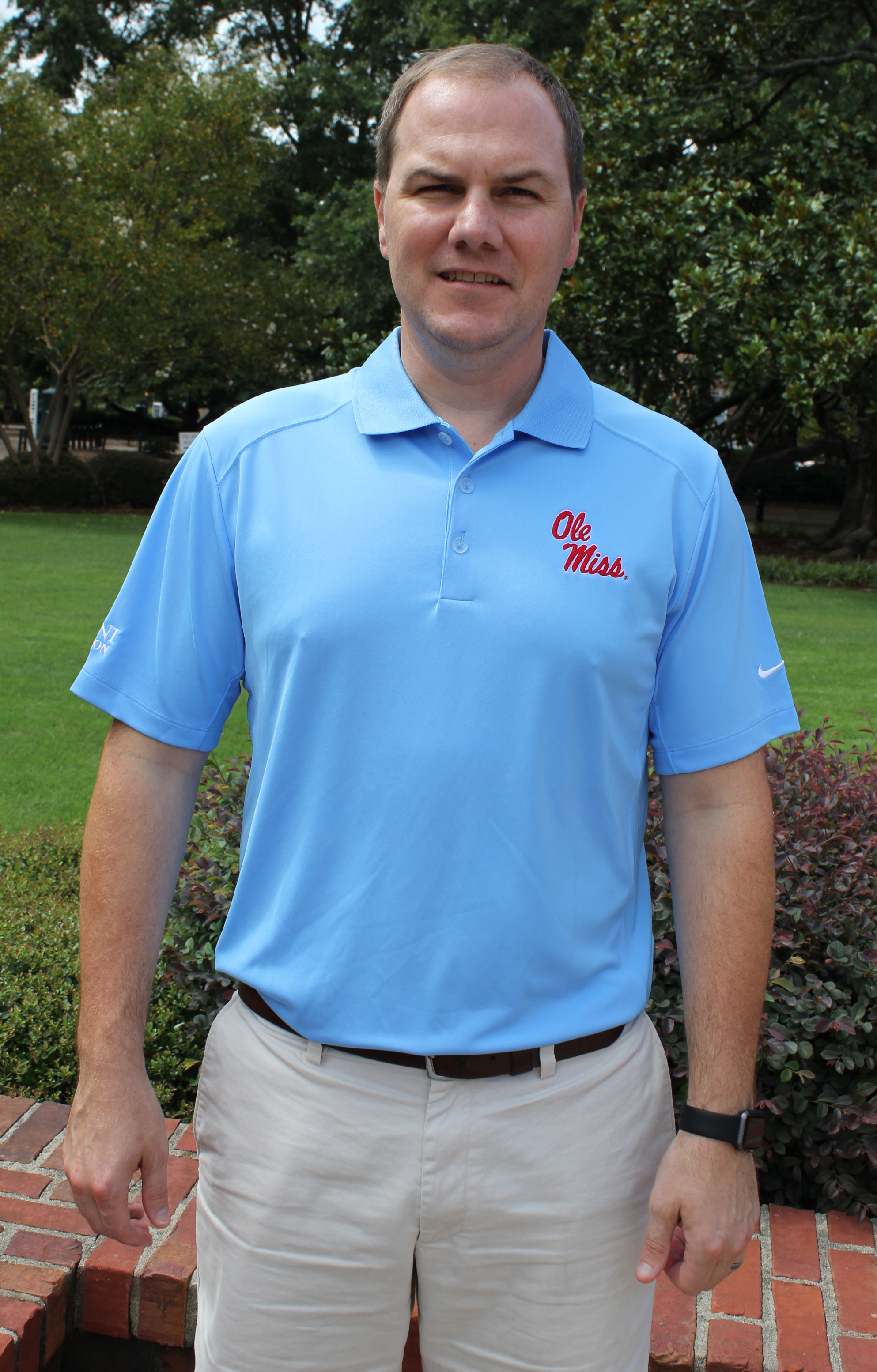 Nike Golf Victory Polo Ole Miss Alumni Association