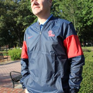 navy-red pullover front